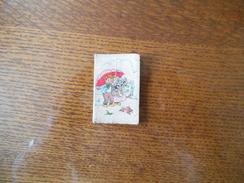 AMIENS PARFUMERIE JEAN DUFLOT 1 RUE ROBERT DE LUZARCHE CALENDRIER 1955 - Calendriers
