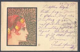 Art Nouveau - Koloman Moser - Philipp & Kramer 4/7 - Wiener Secession Style - Moser