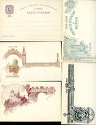 AZORES Postal Cards #27 VASCO DA GAMA Complete Set 4 Views Mint 1898 - Açores