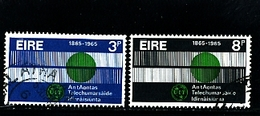 IRELAND/EIRE - 1965 I.T.U.  CENTENARY  SET  FINE USED - 1949-... Repubblica D'Irlanda