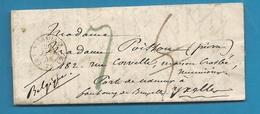 Seine Et Oise - Versailles Pour Ixelles (Belgique). LAC De 1848. Indice 11 - Marcophilie (Lettres)