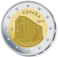 """MONEDAS  ///   ESPAÑA 2017  BIMETALICA  """"STA MARIA DEL NARANCO""""  2 EUROS -  SC/UNC T-12.044 - España"""