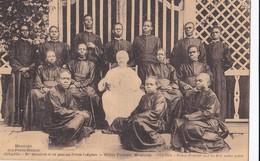 Carte 1915 OUGANDA / MONSEIGNEUR ET SES PREMIERS PRETRES INDIGENES - Oeganda