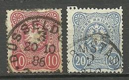 Deutsches Reich 1879 Michel 41 - 42 O - Germania