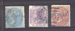 GB  -  Inde  :  Yv  9-11  (o) - India (...-1947)