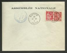 ALLIER - Assemblée Nationale VICHY 10.07.1940 / Vote Pour Les Pleins Pouvoirs à PETAIN
