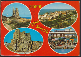 °°° 2315 - ROSETO CAPO SPULICO - VEDUTE (CS) 1990 °°° - Italia
