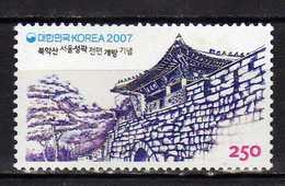 South Korea 2007 Abolition Of The Military Restricted Area On Bugaksan, Seoul.MNH - Korea, South