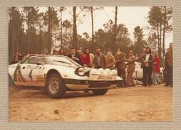 Old Photograph Rally Of Portugal. The 70's. Raffaele Pinto -Lancia Stratos - Alitalia-  World Rally Championship, WRC - Deportes