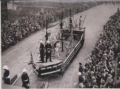 HMS VANGUARD LORD MAYORS SHOW  1948  GRAN BRETAÑA .REINO UNIDO,INGLATERRA - Barcos