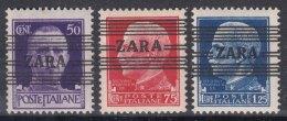 Germany Occupation Of Zara (Zadar) 1943 Mi#32-34 Mint Hinged - Ocupación 1938 – 45