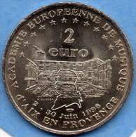 2 EURO AIX EN PROVENCE 1998 Non Officiel - EURO