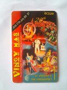 St Vincent Phonecard 162CSVB EC$20 Vincy Mas