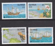 Guyana 1992 500 Years Of America's Discovery Set MNH - Guyana (1966-...)