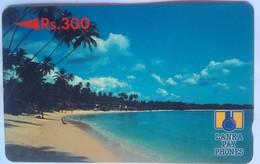 Sri Lanka Phonecard 5SRLB Rs300 Beach - Sri Lanka (Ceylon)
