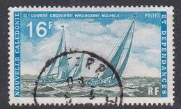 New Caledonia SG 485 1971 Ocean Yacht Race Used - New Caledonia
