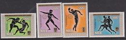Niue 1985 SG 591-94 Mini South Pacific Games MNH - Niue