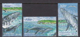Niue SG 822-24 1997 Whales Pt 1, MNH - Niue
