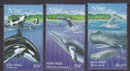 Niue SG 827-829 1997 Whales Pt 2, MNH - Niue
