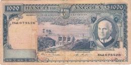 ANGOLA   1000 Escudos   10/6/1970   P. 98 - Angola