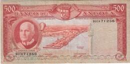 ANGOLA   500 Escudos   10/6/1970   P. 97 - Angola
