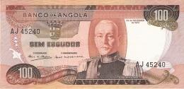 ANGOLA   100 Escudos   24/11/1972   P. 101   SUP - Angola