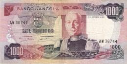 ANGOLA   1000 Escudos   24/11/1972   P. 103 - Angola