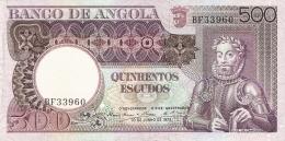ANGOLA   500 Escudos   10/6/1973   P. 107 - Angola