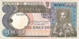 ANGOLA   1000 Escudos   10/6/1973   P. 108 - Angola