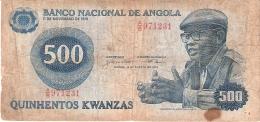 ANGOLA   500 Kwanzas   14/8/1979   P. 116 - Angola
