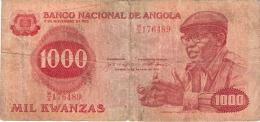 ANGOLA   1000 Kwanzas   14/8/1979   P. 117a - Angola