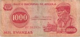 ANGOLA   1000 Kwanzas   11/11/1976   P. 113a - Angola