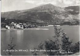 Amatrice - 1954 -  Lago Scandarello Con Frazioni Conca E Pizzo Di Sevo - Rieti