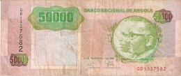 ANGOLA   50,000 Kwanzas   4/2/1991   P. 132 - Angola