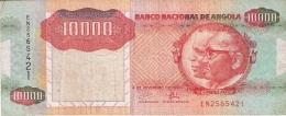 ANGOLA   10,000 Kwanzas   4/2/1991   P. 131b - Angola
