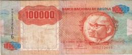 ANGOLA   100,000 Kwanzas   4/2/1991 (1993)   P. 133a - Angola