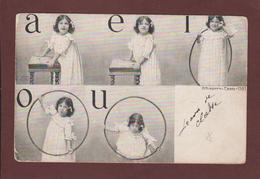 Carte  Postale Photo écrite -  ENFANT -  Debut Du Siècle Dernier  - Voir Les 2 Scannes - Enfants