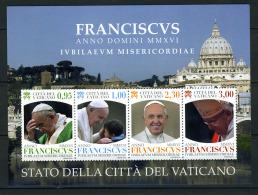 2016 -  VATICANO - Pontificato Di Papa Francesco MMXVI - IVBILAEVM MISERICORDIAE  -  Mint - MNH - Vaticano