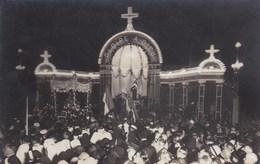 Carte Photo,pose De La Premiere Pierre De La Basilique ,29 Septembre  1929 - Lisieux