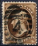 Stamp Us Scott?  Jefferson 10c Fancy Cancel Lot#1 - Used Stamps