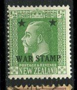 New Zealand  1915 1/2p War Tax Issue #MR1 - Officials