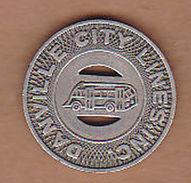 AC -  DANVILLE CITY LINES INC GOOD FOR ONE FARE TOKEN - JETON - Monetary/Of Necessity