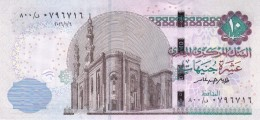 EGYPT 10 EGP 2016  P-64 NEW SIG/ T.AMER #23 UNC REPLACEMENT 800 SPACE OUT */* - Egypte
