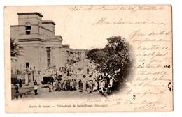 SENEGAL .SAINT-LOUIS . CATHEDRALE . SORTIE DE MESSE - Réf. N°283 - - Senegal