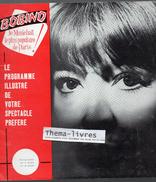 Programme JULIETTE GRECO à Bobino 1960-61 (F.GF 00178) - Programmes