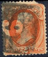 Stamp Us 1879 Jackson 2c Fancy Cancel Lot#26 - Gebruikt