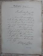 ISOGRAPHIE WASHINGTON GEORGES/COLLECTION FAC SIMILE LETTRES-AUTOGRAPHES-SIGNATURES  Litho Bernard & Delarue - Old Paper