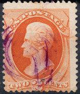 Stamp Us 1879 Jackson 2c Fancy Cancel Lot#57 - Gebruikt