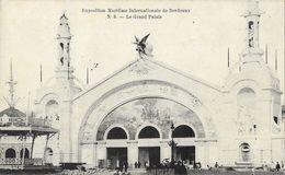 Exposition Maritime Internationale De Bordeaux - Le Grand Palais  - Carte N° 5 - Tentoonstellingen