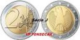 VF MOEDA DE 2  EUROS   ALEMANHA 2006 LETRA # J # RARA - Alemania